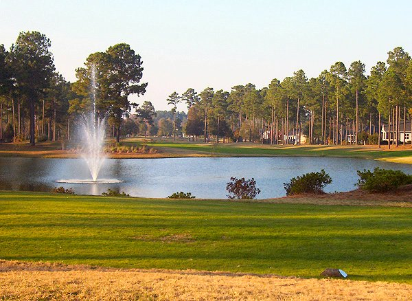 Golf course: Brunswick Plantation, Calabash